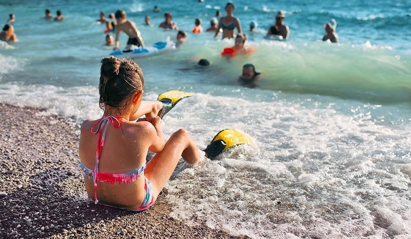 Сочи: отдых на городском пляже