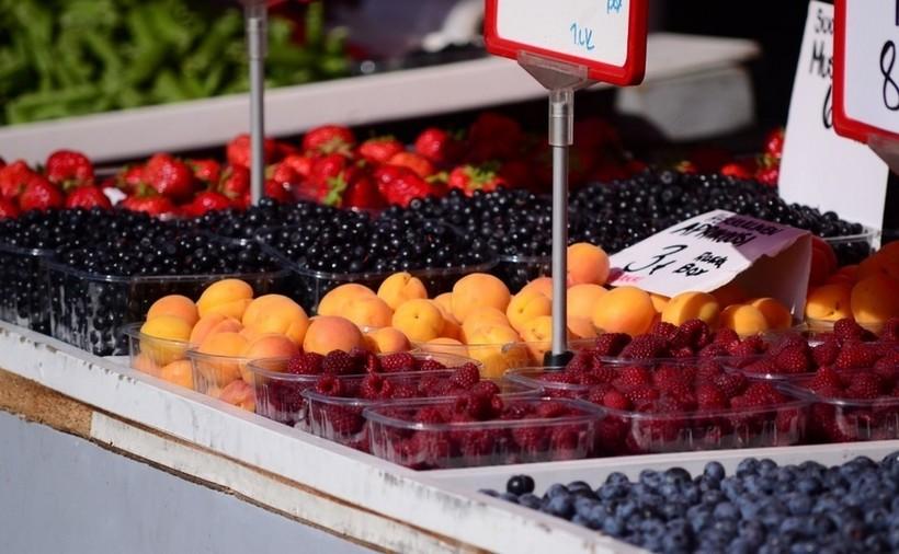 Голубика и малина в тренде. Рынок Хаканаеми.