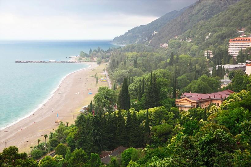 Красота Абхазии весной
