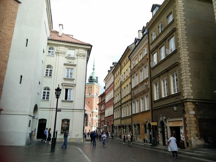 Прогулки по Старому городу, Варшава
