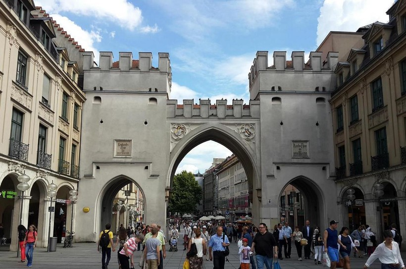 Мюнхен: прогулка по городу