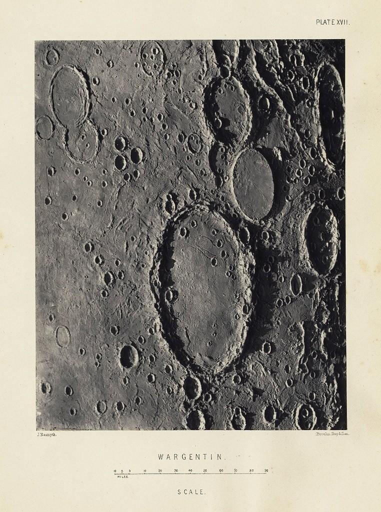 Как такое возможно: фальшивые фотографии Луны 1874 года от шотландского астронома