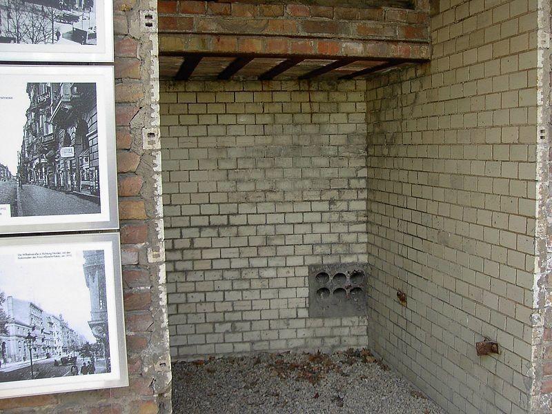 Камера пыток, найденная при раскопках фундамента бывшего здания гестпао