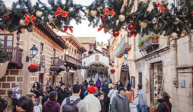 Распродажи перед рождеством в Барселоне
