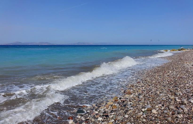Родос: прогулка вдоль моря