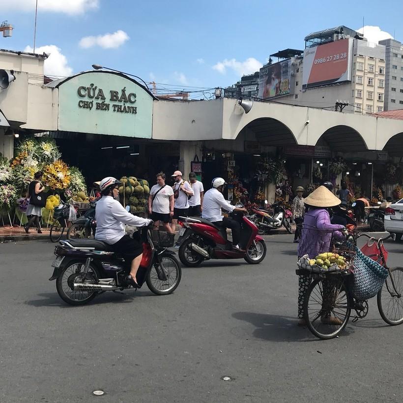 Рынок в районе Бин Тхань, Хошимин