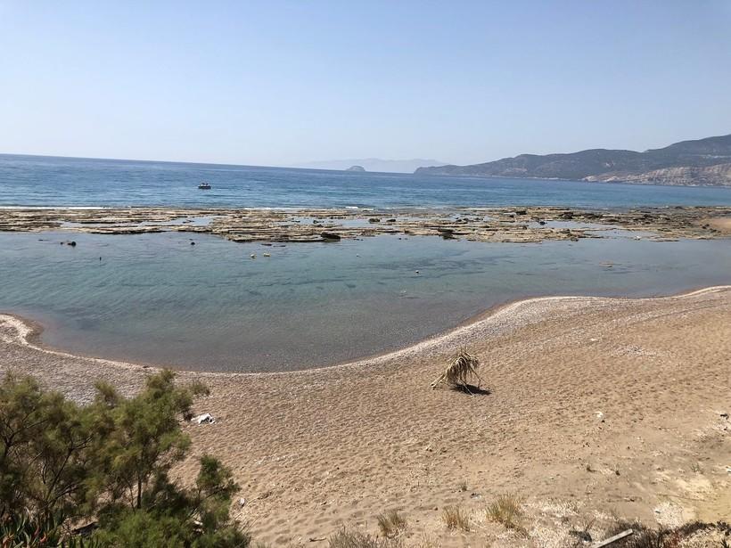 Июль на пляже Лимни, Родос