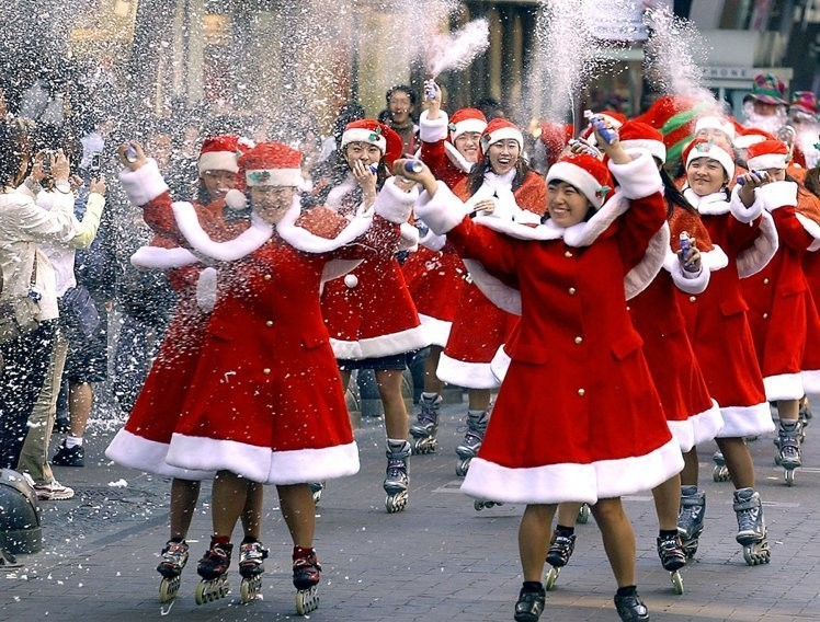 Рождество на роликах в Валенсии