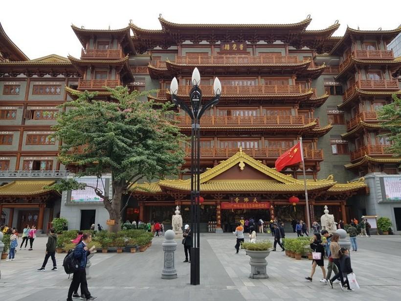 Январская прогулка по Гуанчжоу