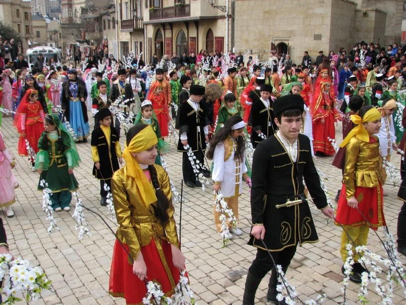 Наурыз в марте в Баку