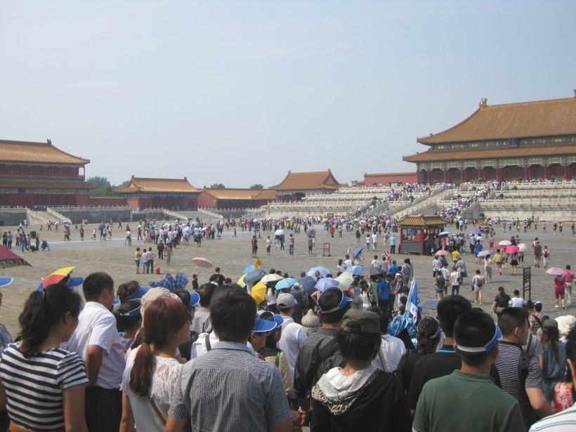 Пекин: очередь в кассу