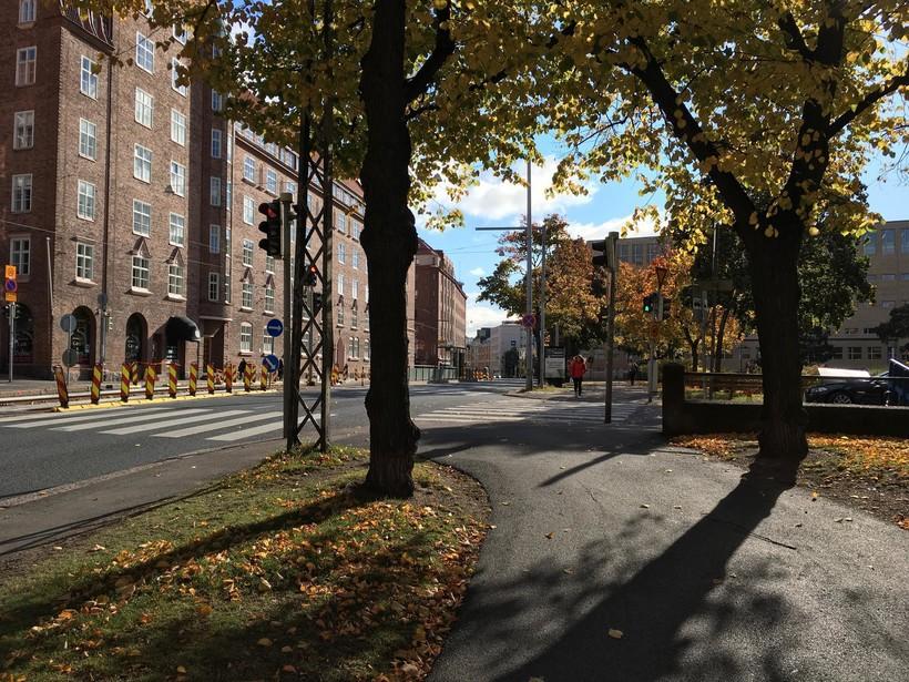 Хельсинки в октябре