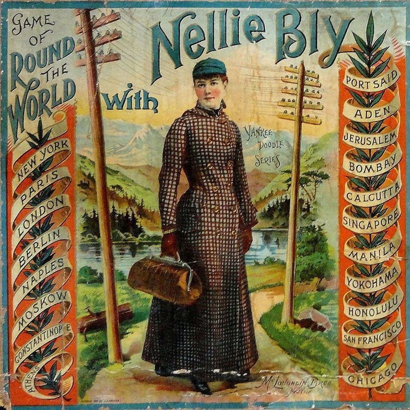 Нелли Блай на обложке журнала