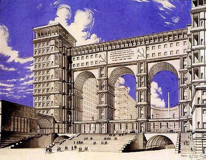 Какой могла быть Москва: самые грандиозные проекты СССР, которые так и не реализовали