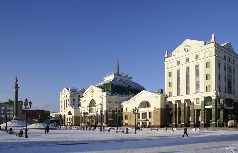 Вот такой погодой встретил меня Красноярск!