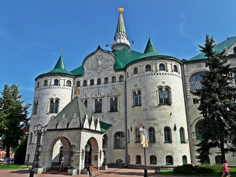 Прогулка по Нижнему Новгороду в июне