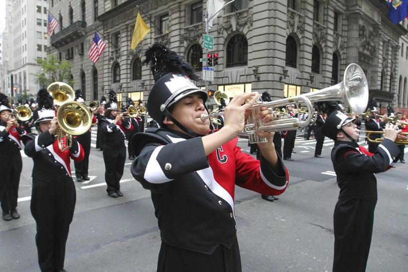 Парад в День Колумба, Нью-Йорк 2018