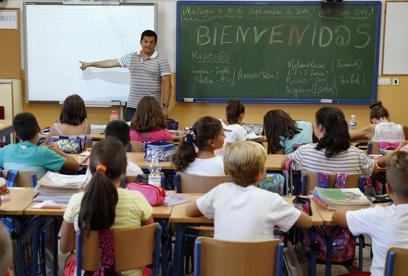 Школьный класс в Испании