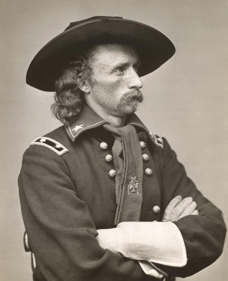 Полковник Джордж Кастер