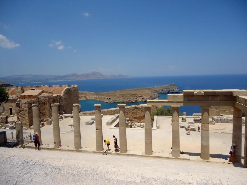 Акрополь в Линдосе на Родосе