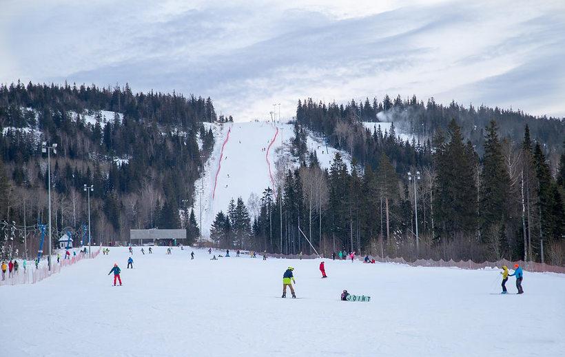 Горные лыжи в Екатеринбурге