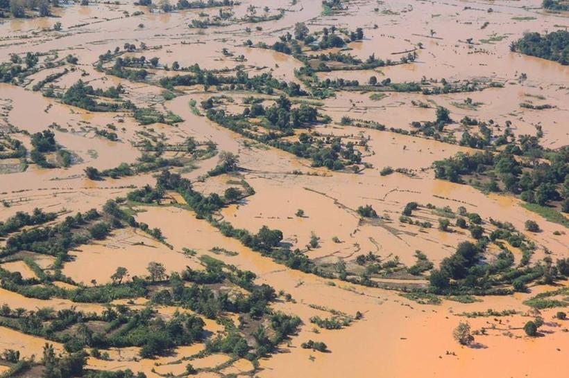 Последствия урагана в Африке