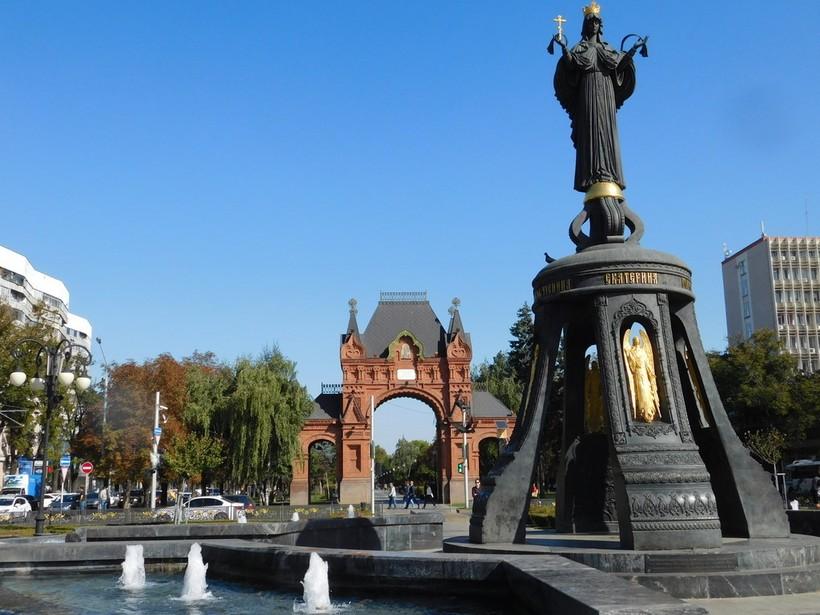Краснодар: вот такой погодой встретил меня город по прибытии