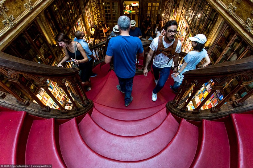 Livraria Lello — самый красивый книжный магазин в мире