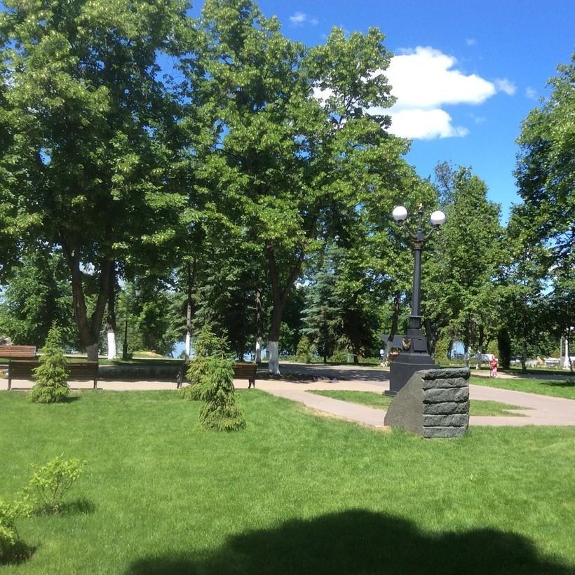Струковский сад в Самаре, май 2018