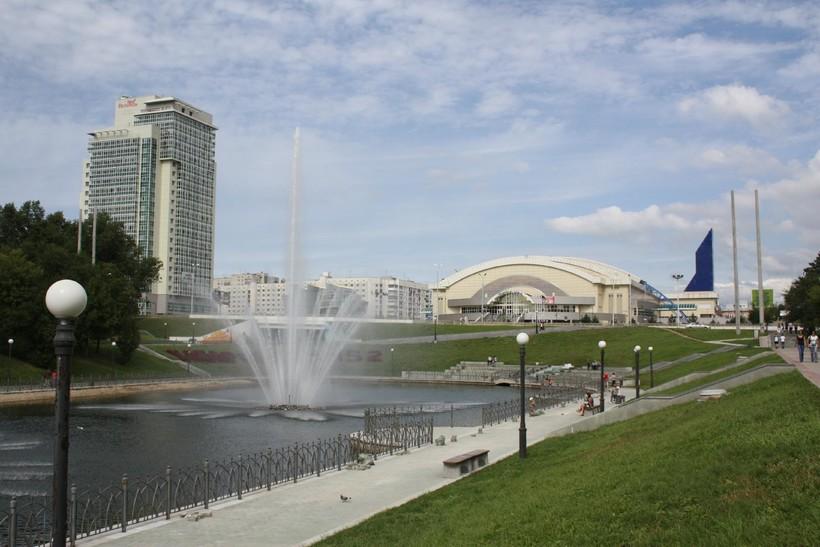 Платинум Арена в Хабаровске, июль 2018