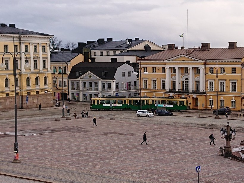 Прогулка по весеннему Хельсинки, март 2019