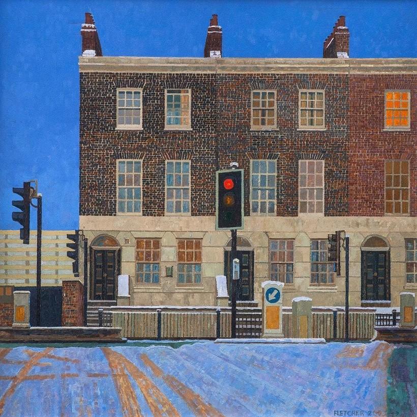 Художница 20 лет рисовала исчезающий район Лондона в чудесном авторском стиле