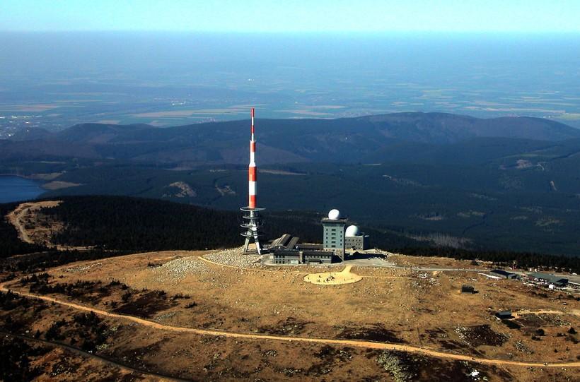 Вершина горы Брокен