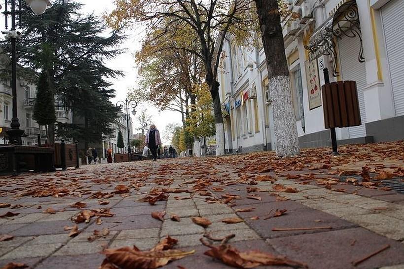 Прогулка по осенним улицам Симферополя