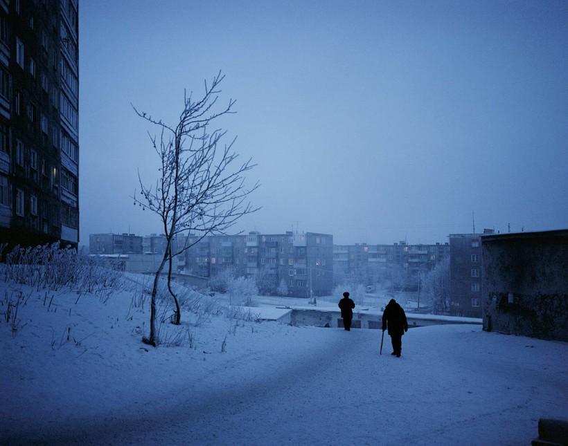 Вечер в Мурманске