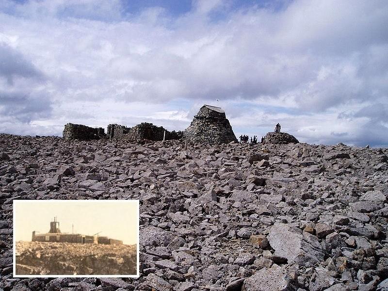 Руины обсерватории Бен Невис