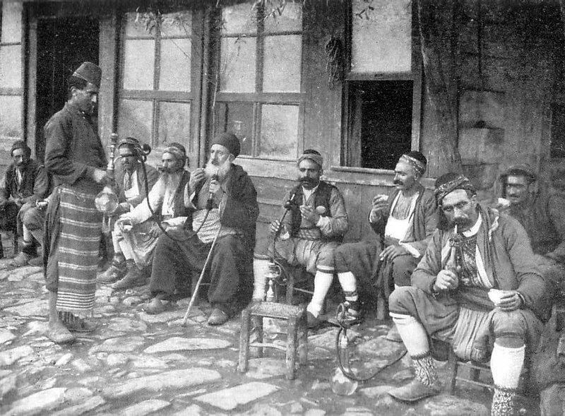 Кофейня Стамбула. Фото 1905 года