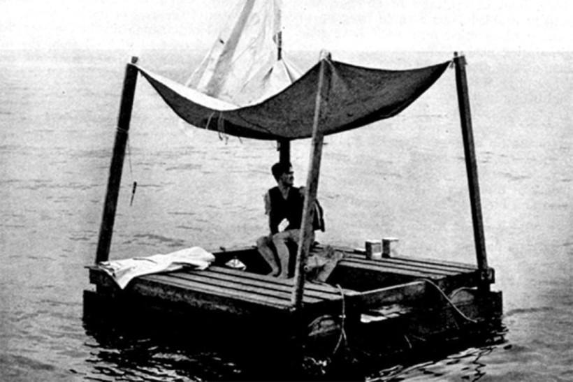 Пришлось проявить смекалку: моряк выжил, проведя 133 дня на плоту в океане