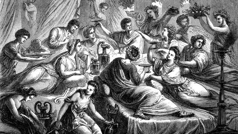 Банкет благородного римлянина