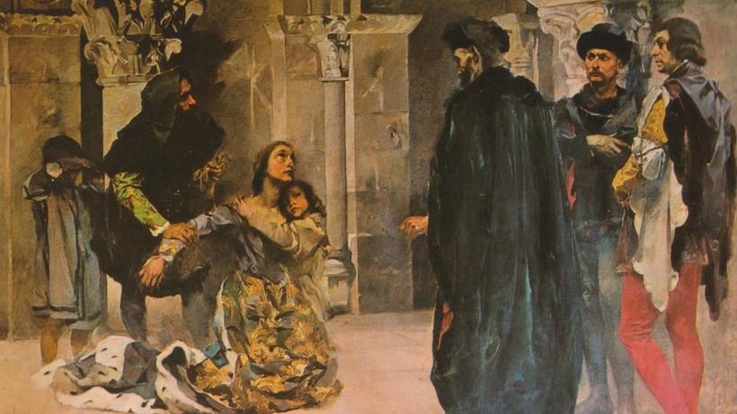 Мертвая королева: романтичная история любви или самая зловещая коронация в истории
