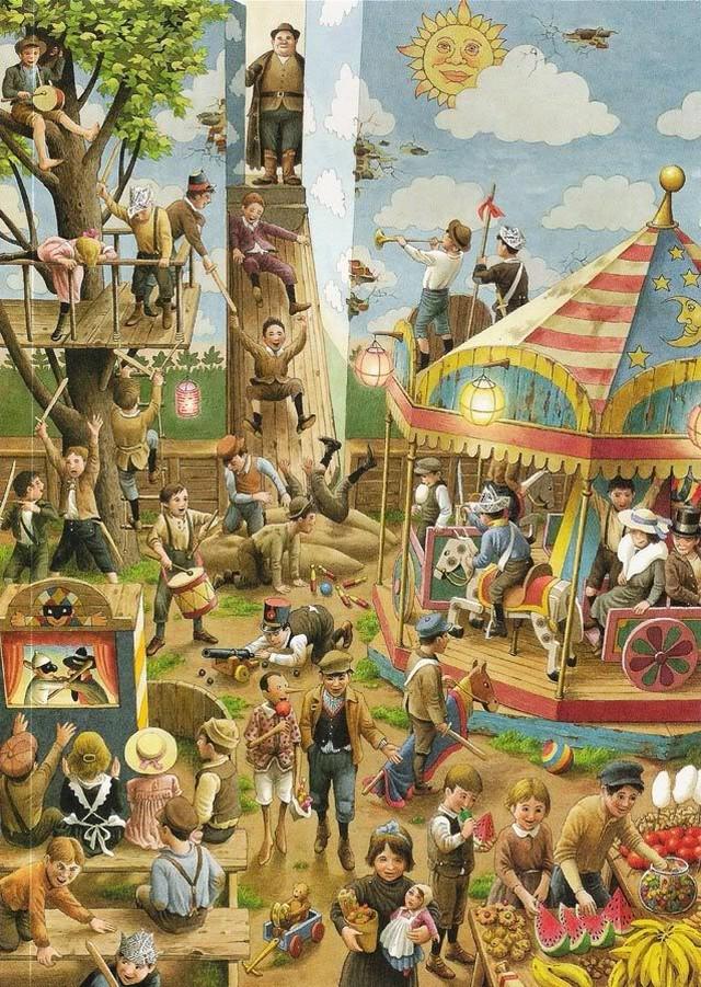 Художник сделал иллюстрации к сказке о Пиноккио, от которых мурашки бегут по коже