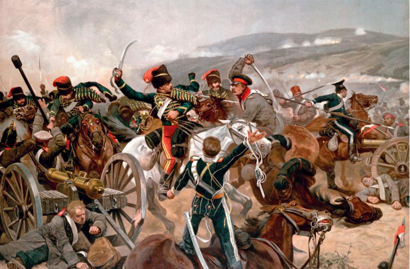 Балаклавское сражение 1854 года во время Крымской войны. Ричард Катон Вудвилл