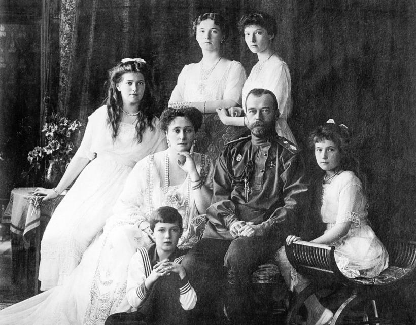 Семья последнего русского императора Николая Второго