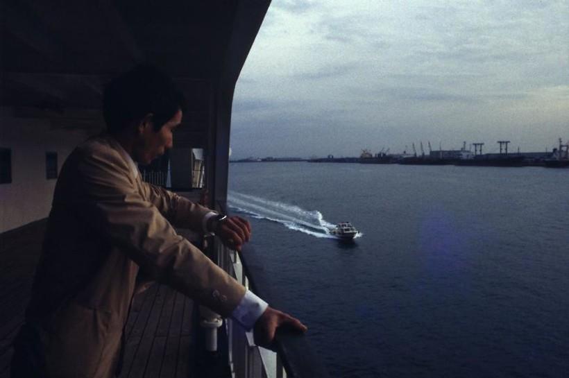 Токийский залив, паром до Окинавы, 1982