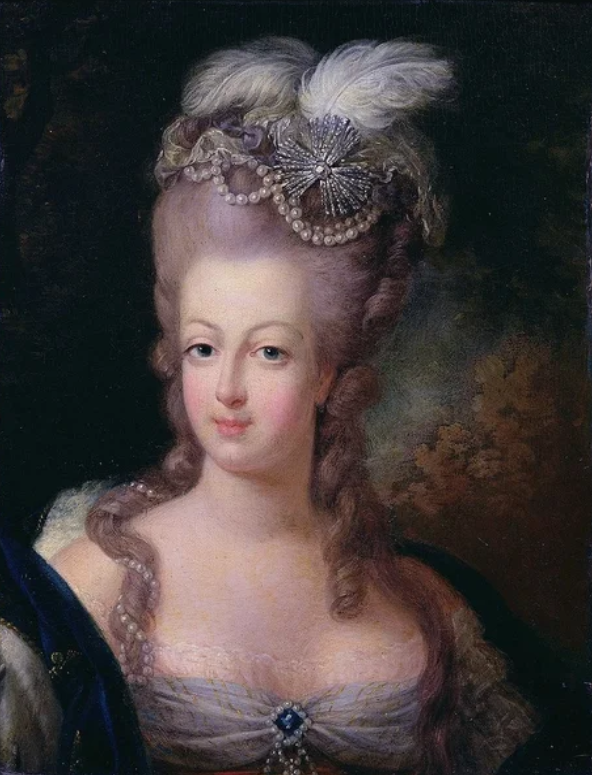 «Портрет Марии-Антуанетты». Готье д`Аготи
