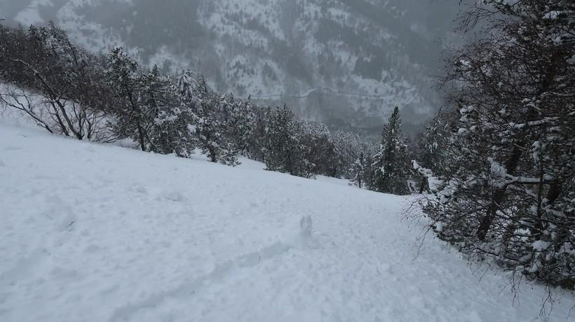 Погода зимой в Центральном массиве