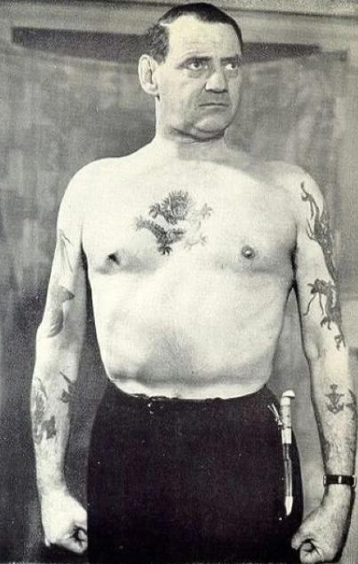 Король Дании Фредерик и его татуировки