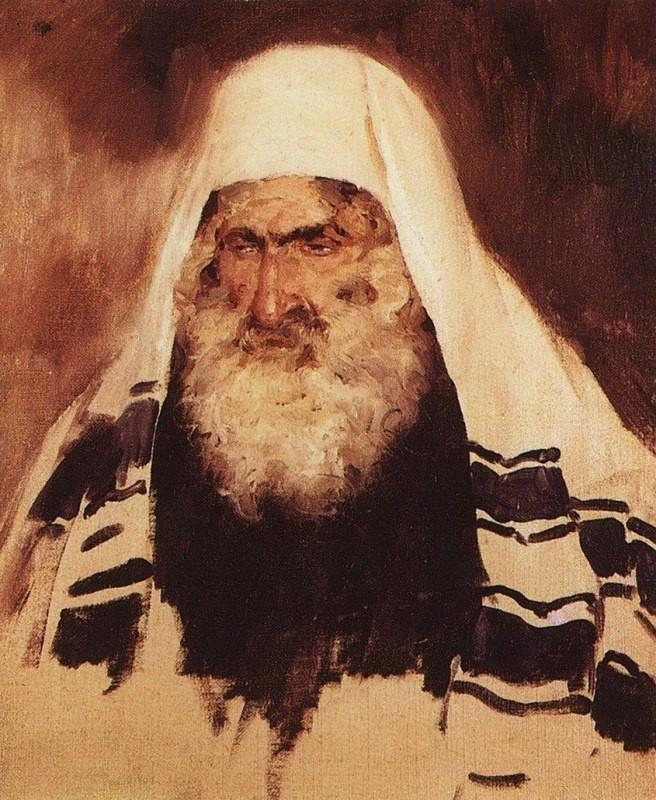 «Старый еврей». В. Поленов