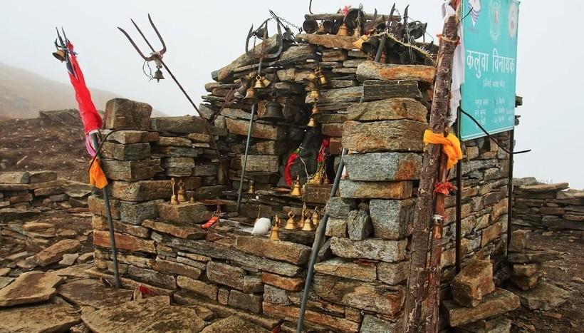 Святилище богини Нанда Деви в Гималаях