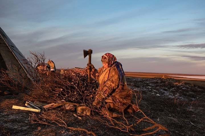 Мир льда и огня: фотограф отправилась на север России, чтобы увидеть жизнь ненцев